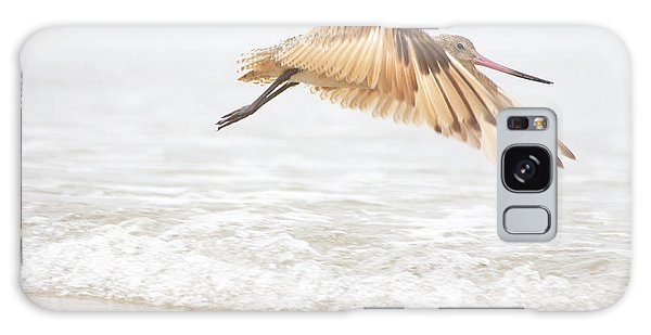 Godwit Over The Ocean Galaxy Case by Ruth Jolly