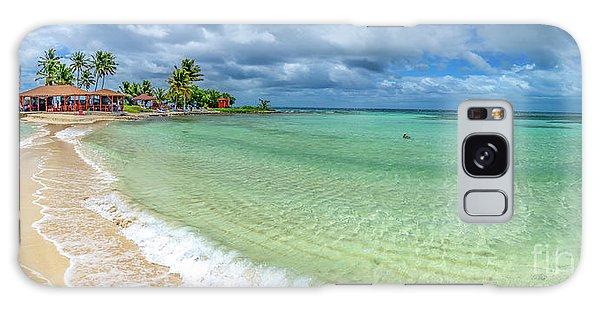 Goff's Caye Belize Pano Galaxy Case