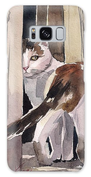 Calico Cat Galaxy Case - Going Away by Yuliya Podlinnova