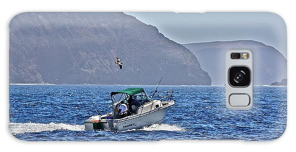 Going Fishing Galaxy Case