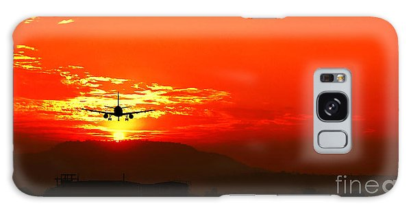 Going Home Galaxy Case by Charuhas Images