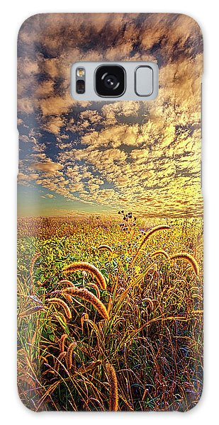 Galaxy Case featuring the photograph Going To Sleep by Phil Koch