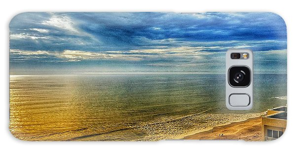 Gold Beach  Galaxy Case