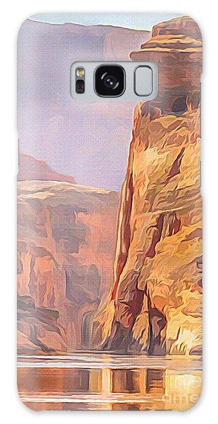 Gold Canyon River Galaxy Case