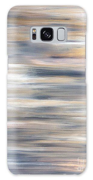 Gold Coast #21 Landscape Original Fine Art Acrylic On Canvas Galaxy Case