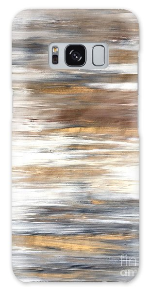 Gold Coast #22 Landscape Original Fine Art Acrylic On Canvas Galaxy Case