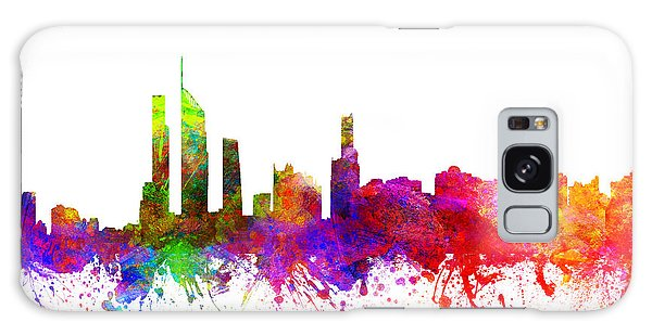 Colours Galaxy Case - Gold Coast Australia Cityscape 02 by Aged Pixel