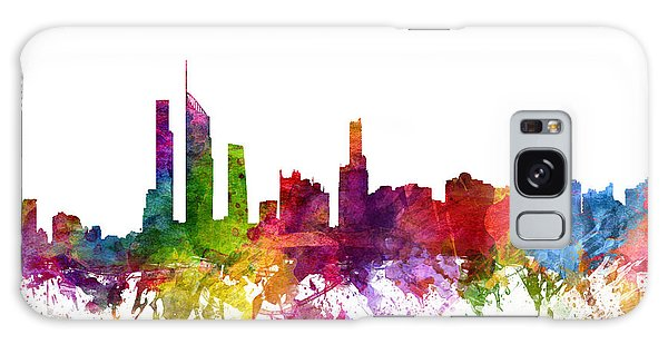 Colours Galaxy Case - Gold Coast Australia Cityscape 06 by Aged Pixel