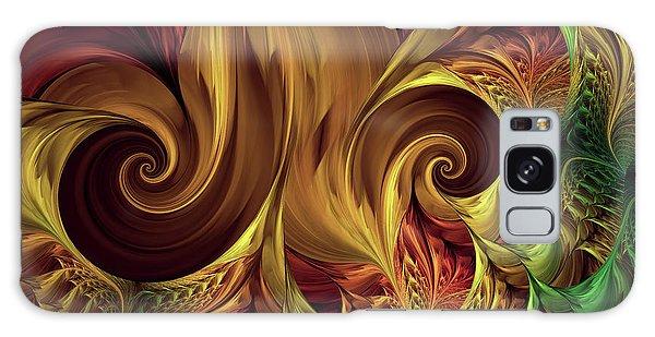 Gold Curl Galaxy Case