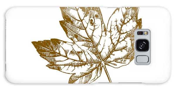Rustic Galaxy Case - Gold Leaf by Chastity Hoff