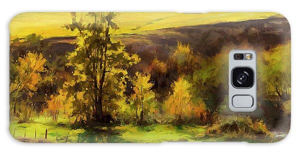 Rural Galaxy S8 Case - Gold Leaf by Steve Henderson