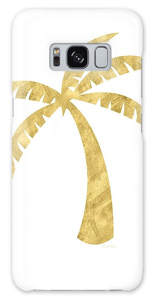 Tree Galaxy Case - Gold Palm Tree- Art By Linda Woods by Linda Woods