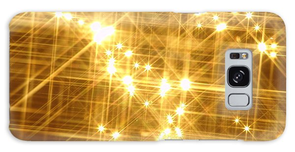 Gold Sparkle Galaxy Case
