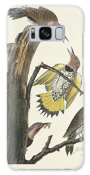 Gold-winged Woodpecker Galaxy Case by Dreyer Wildlife Print Collections