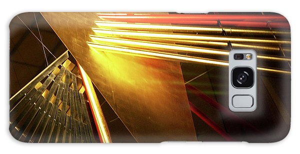 Golden Abstract Galaxy Case