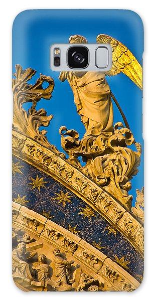 Golden Angel Galaxy Case