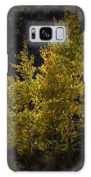 Golden Aspen Galaxy Case