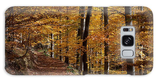 Golden Autumn Galaxy Case by Andreas Levi