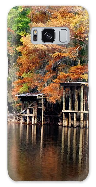 Golden Bayou Galaxy Case by Lana Trussell