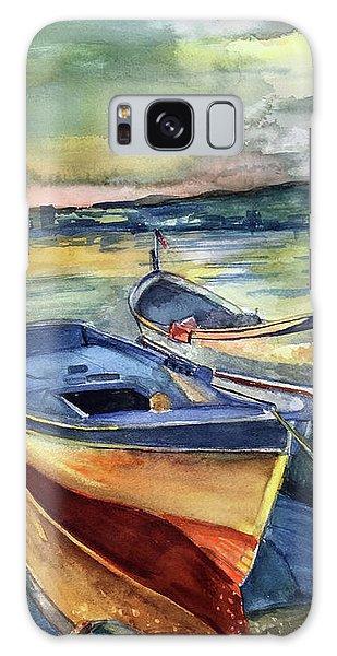 Golden Boats Galaxy Case