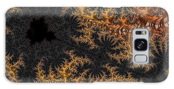 Golden Branching Moss Galaxy Case