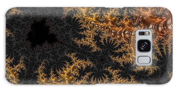 Golden Branching Moss Galaxy Case