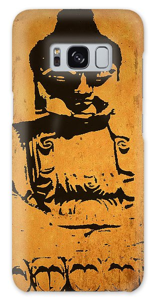 Golden Buddha Galaxy Case by Kandy Hurley