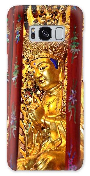 Golden Buddha  Galaxy Case