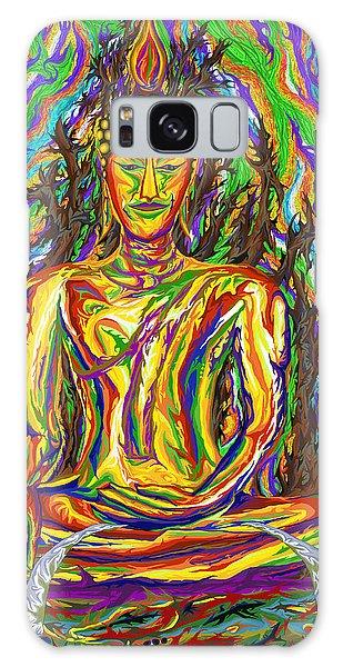 Golden Buddha Galaxy Case by Robert SORENSEN