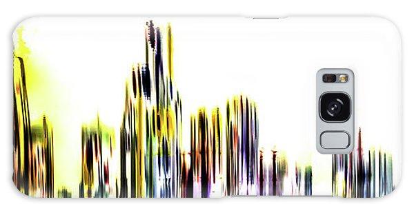 Colours Galaxy Case - Golden Castles by Az Jackson
