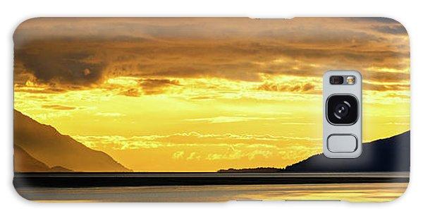 Alaska Galaxy Case - Golden by Chad Dutson