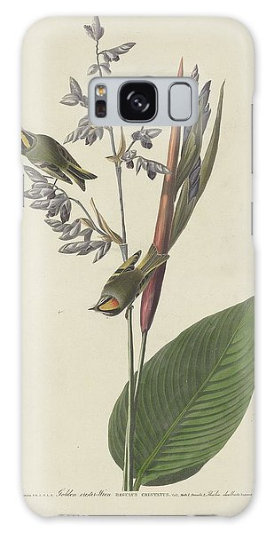 Golden-crested Wren Galaxy Case by Rob Dreyer