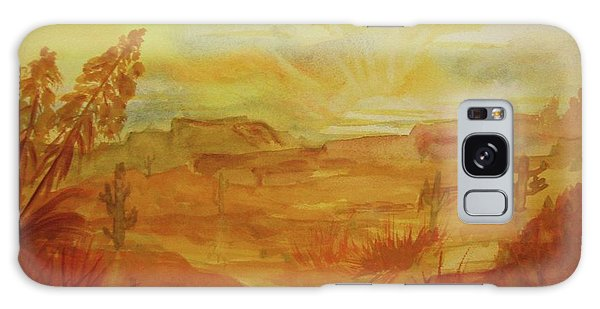 Golden Dawn Galaxy Case by Ellen Levinson