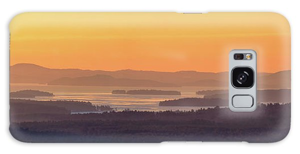 Golden Dawn Over Squam And Winnipesaukee Galaxy Case