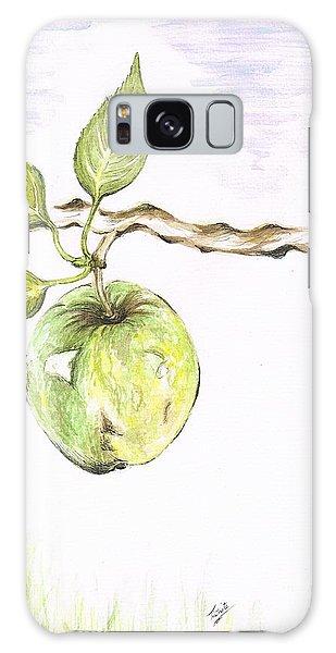 Golden Delishous Apple Galaxy Case by Teresa White