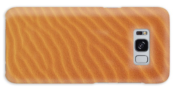 Golden Desert Sands Galaxy Case