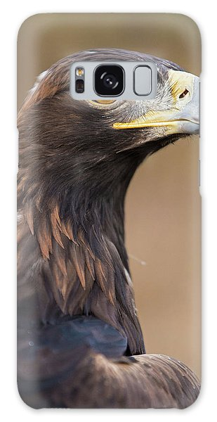 Galaxy Case featuring the photograph Golden Eagle by Wesley Aston