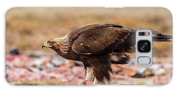 Golden Eagle's Profile Galaxy Case by Torbjorn Swenelius