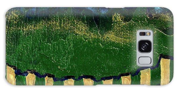 Golden Evening Galaxy Case by Donna Blackhall
