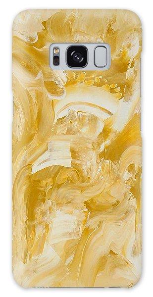 Golden Flow Galaxy Case by Irene Hurdle