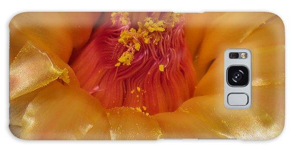 Golden Flower 1 Galaxy Case