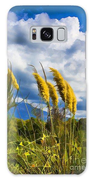 Golden Fluff Galaxy Case by Rick Bragan