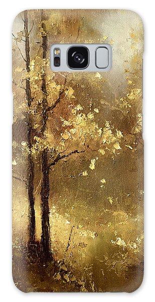 Golden Forest Galaxy Case
