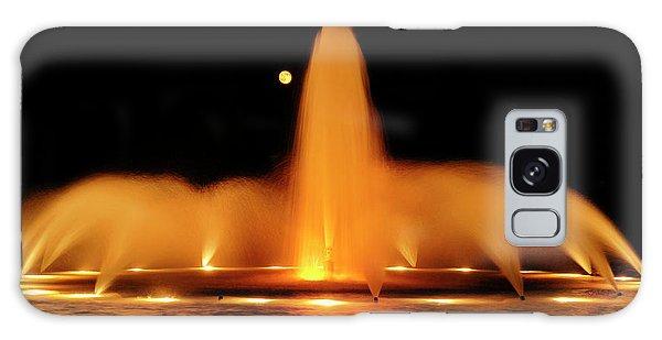 Golden Fountain Galaxy Case