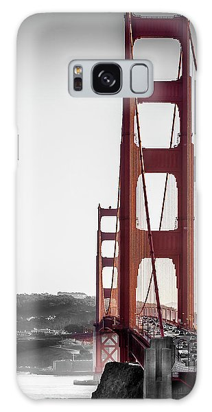 Golden Gate Black And Red Galaxy Case
