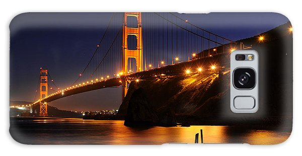 Golden Gate Bridge 1 Galaxy Case by Vivian Christopher
