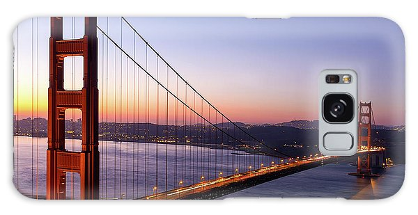 Golden Gate Bridge During Sunrise Galaxy Case