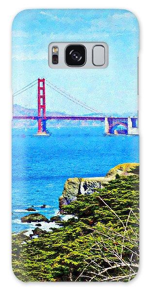 Golden Gate Bridge From The Coastal Trail Galaxy Case