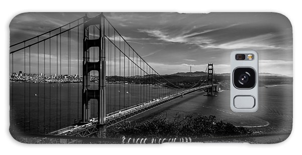Golden Gate Bridge Locks Of Love Galaxy Case