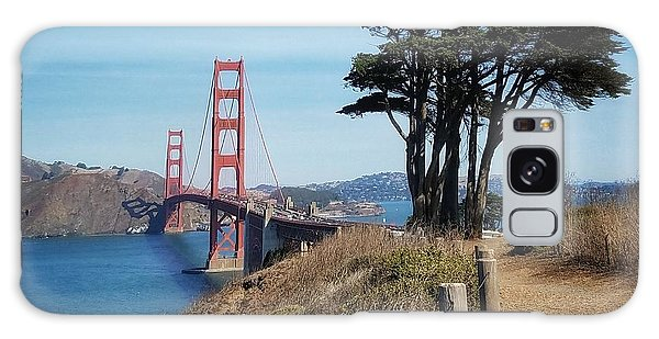 Golden Gate Bridge Galaxy Case